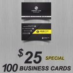 Atlanta Business Cards special online same day printing