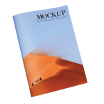 Cheap half size booklet catalog magazines