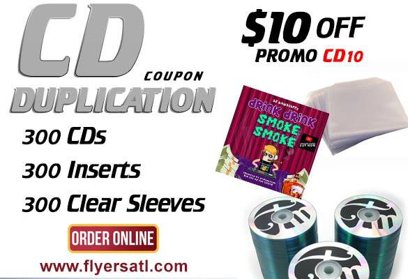 Atlanta CD Duplication Special - Cheap CDs