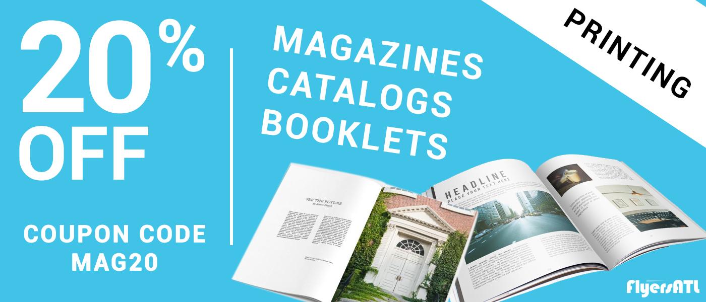 Magazine Booklet Catalog Printing Services Atlanta