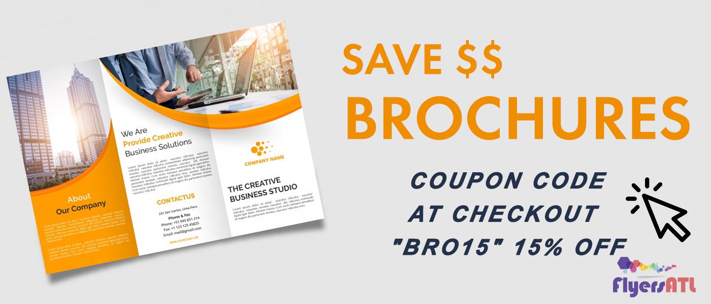 Atlanta Brochures Printing Special