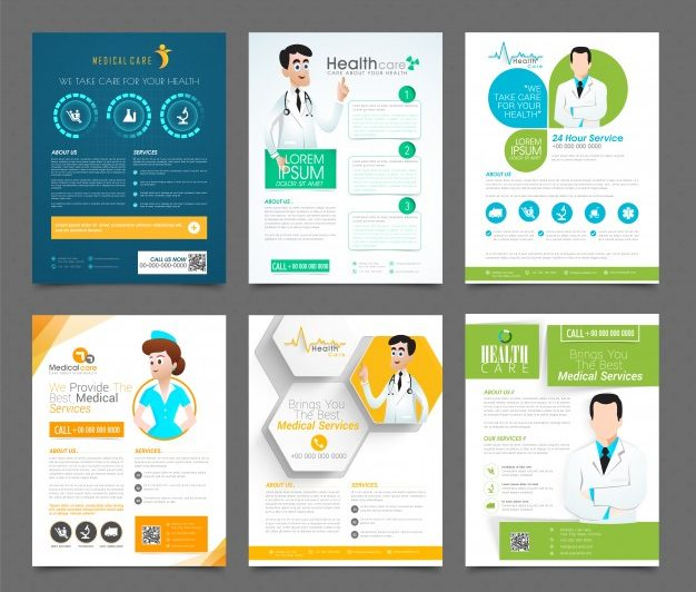 Medical Catalog Design Full Color and Printing, Saddle Stitched