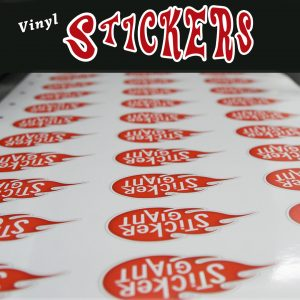 Cheap Vinyl Stickers Printing in Atlanta