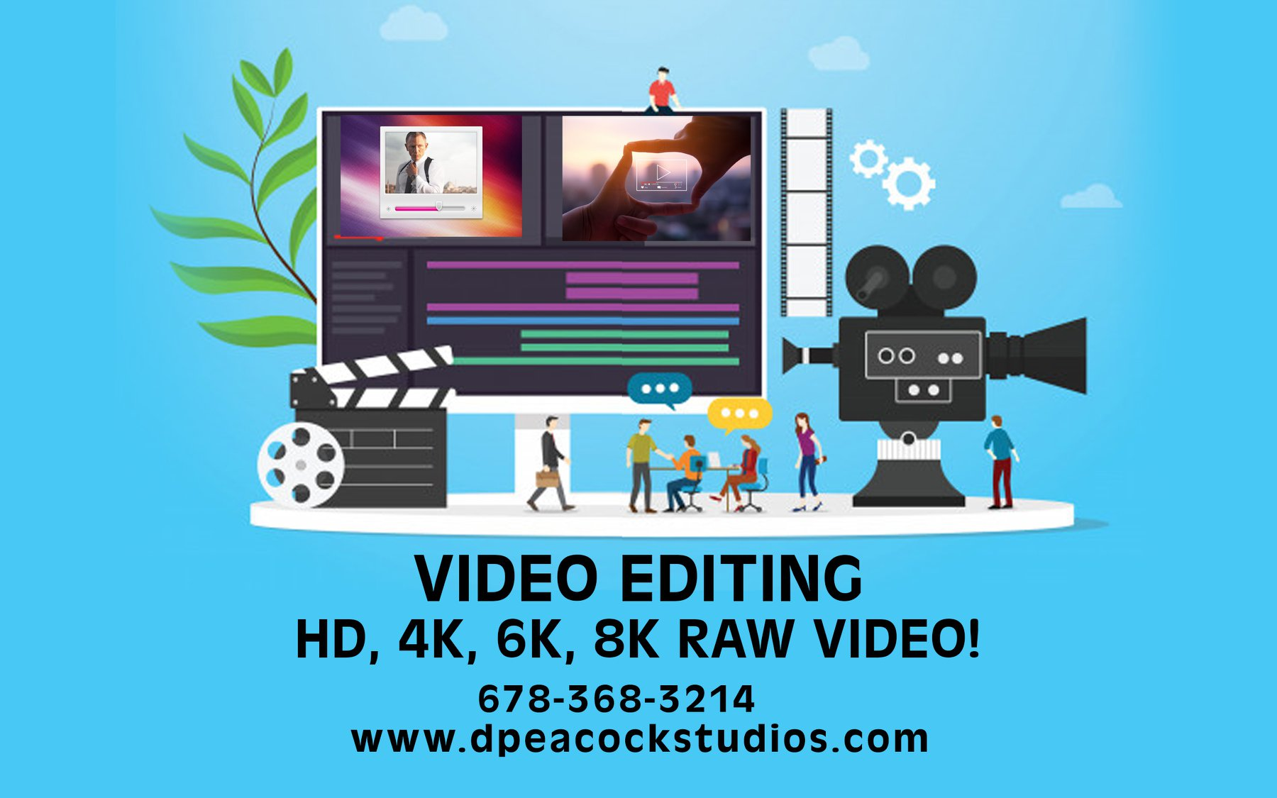 Atlanta Digital 4k, 6k, and 8k video editing