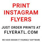 Print Instagram Flyers