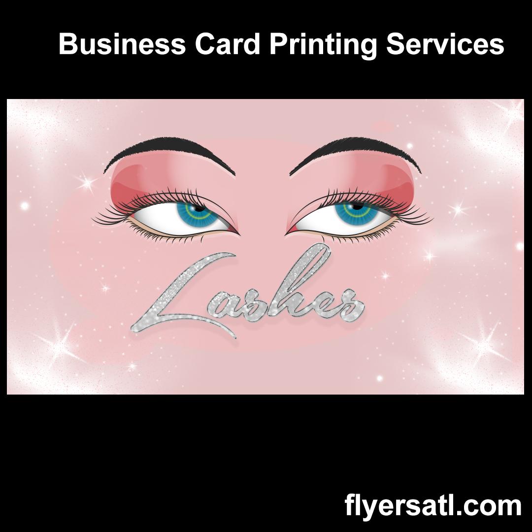 Lashes Business Cards Near Me Atlanta