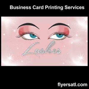 Atlanta Lashes Business Card