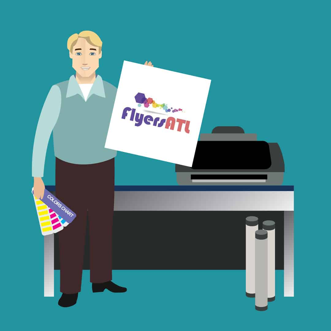 Flyer Printing and Graphic Design Service