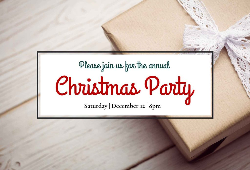Print Christmas Party Flyer for businesses.