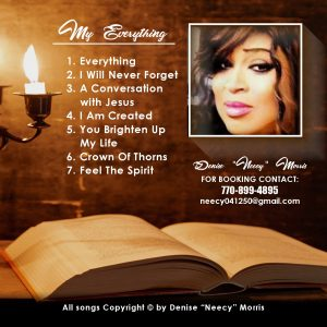 gospel christian music cover design