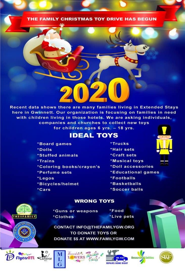 2020 Toy Drive Atlanta Gwinnett