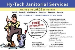Janitorial Flyer Design