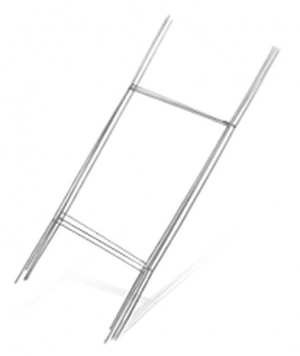 """10"""" x 30"""" Wire H-Stake"""
