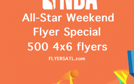 All-Star Weekend 2021 Flyers