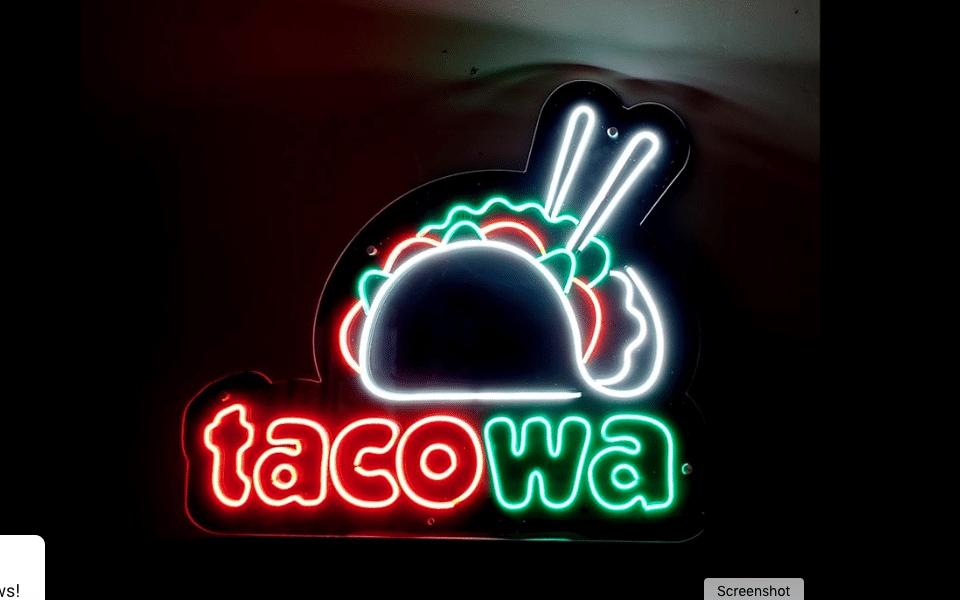 Restaurants LED Sign
