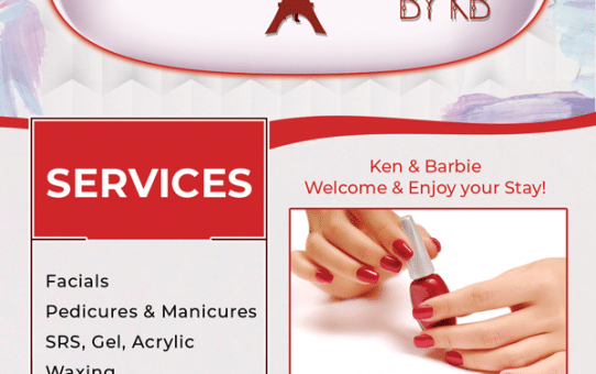 Nail Salon Flyer Design & Printing
