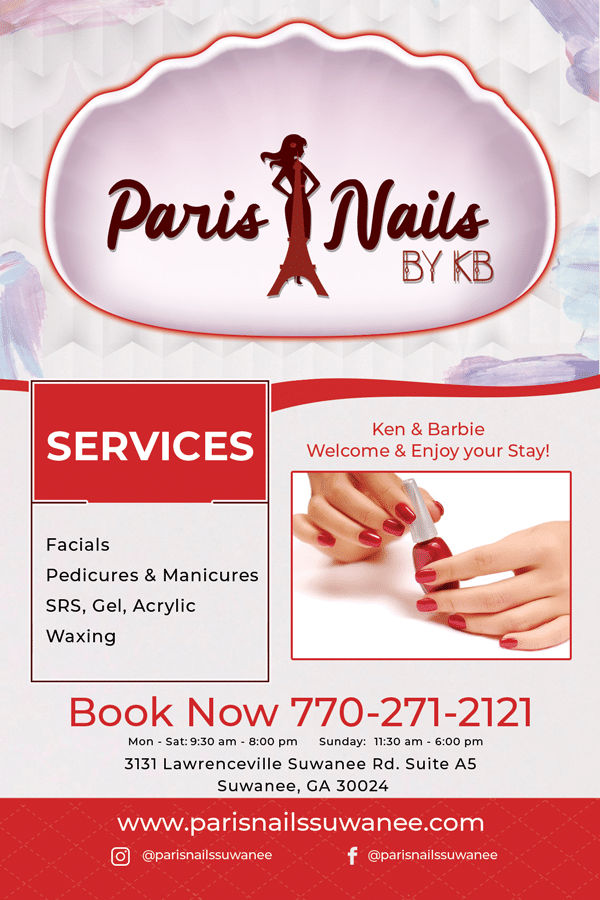 Nail Salon Flyers Design and Print