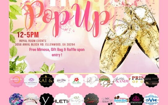Mommy & Mimosa Popup Shop Sat. May 8