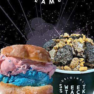 Atlanta Ice cream Banner Design