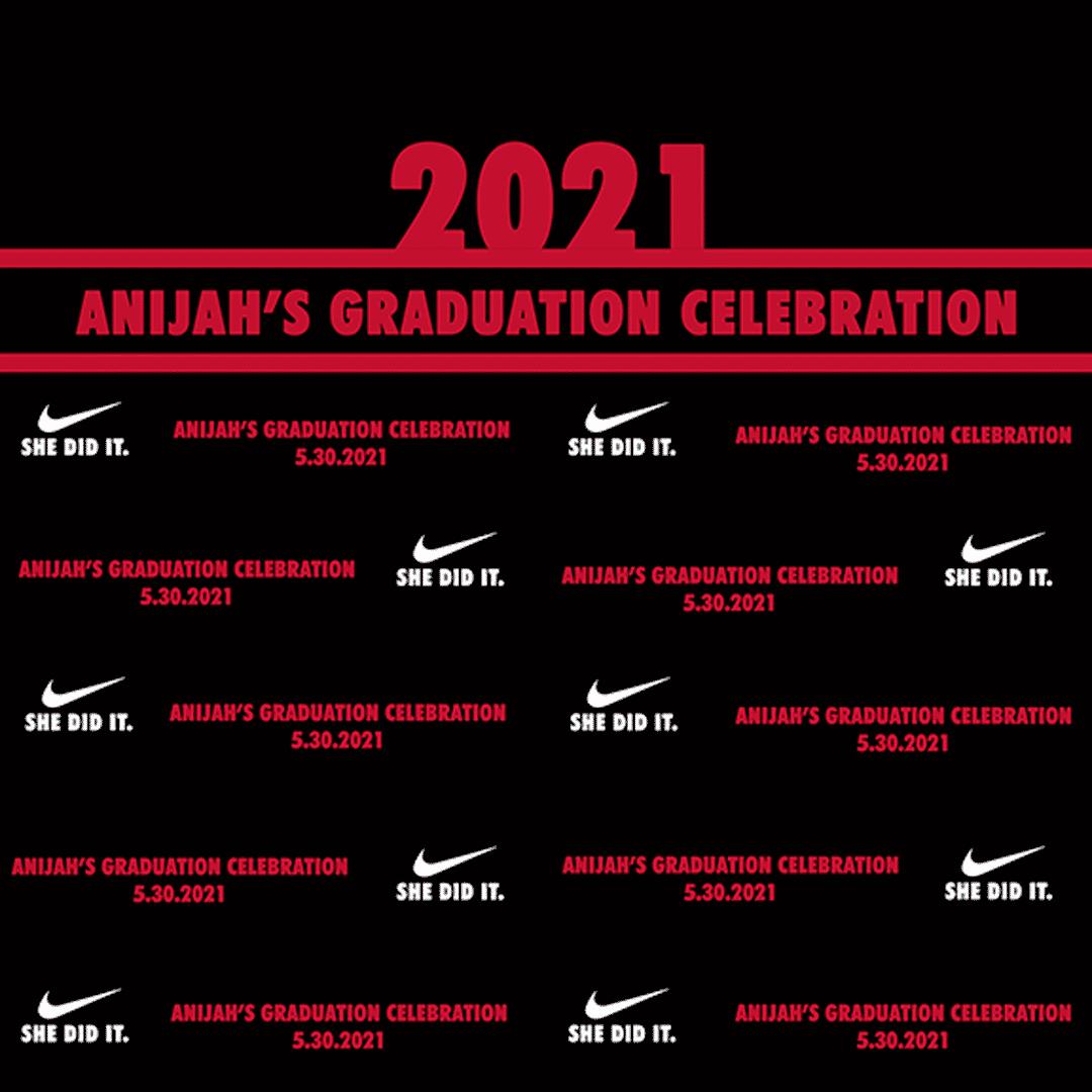 Atlanta graduation banner