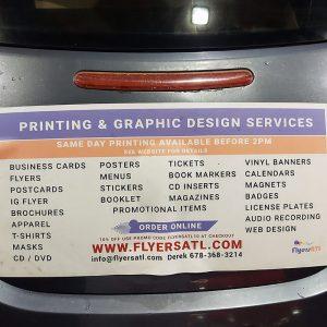 Atlanta Car Magnets for business