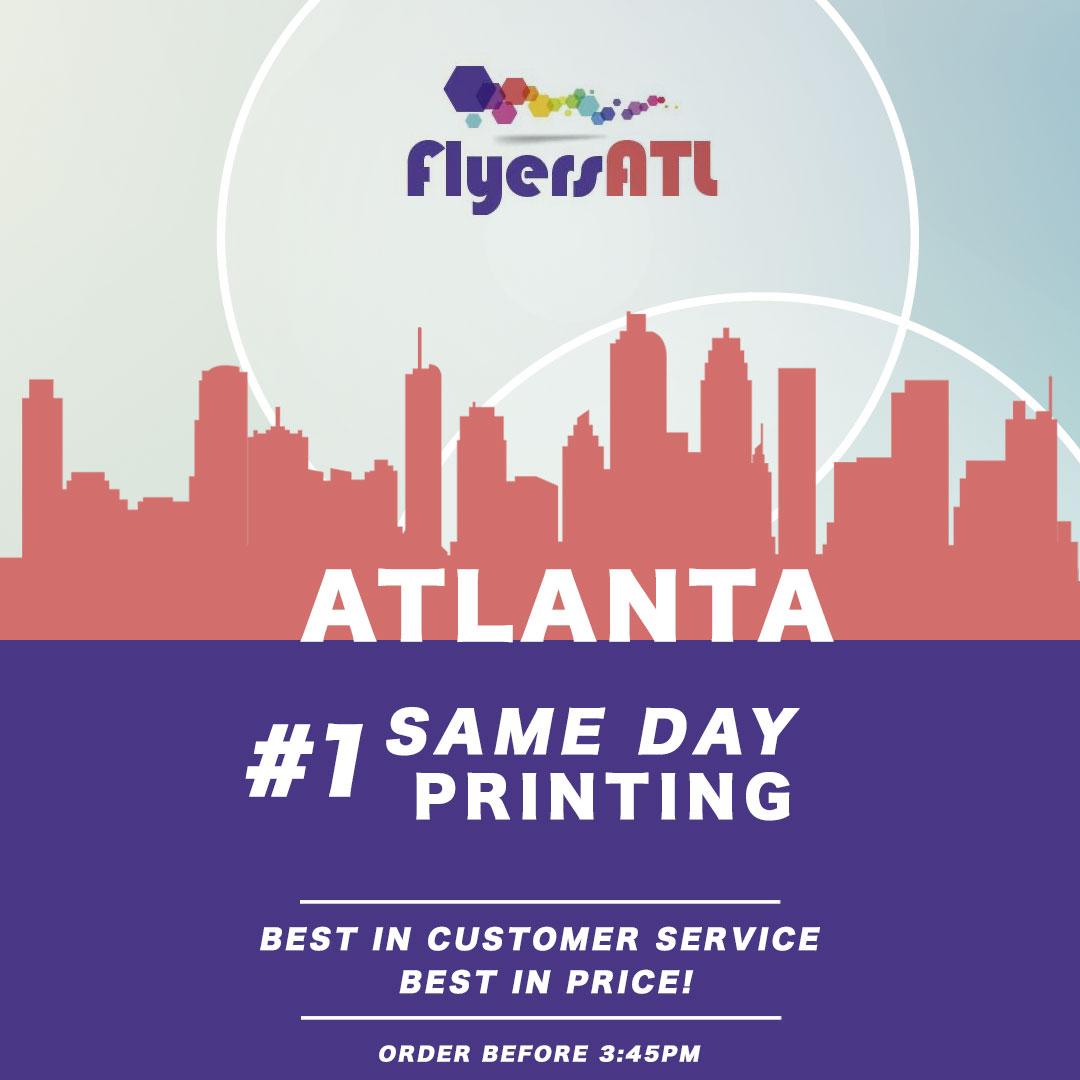 Same Day Printing Atlanta